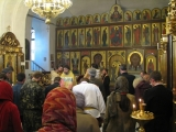 Osvjashenie kiota ikony Nikolaja II