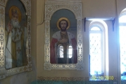 Св.блг.кн. Александр Невский - единственная икона с целым стеклом