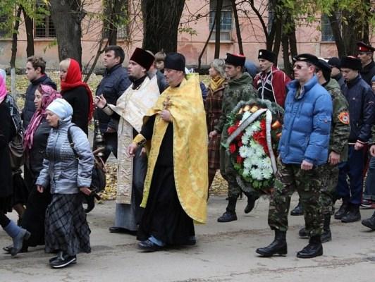 Крестный ход в память 95 летия Русского исхода