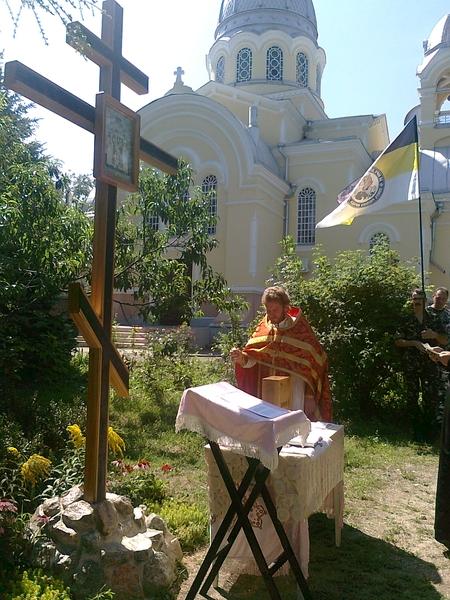 Молебен и акафист Николаю II в Казанском соборе