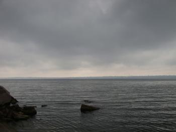 Днепр в районе Каховки