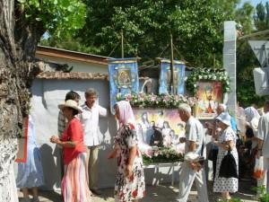 Крестный ход в Феодосии 17 июля 2013 года