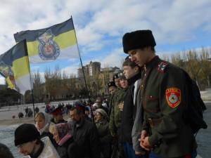 Крестный ход 16 ноября 2013г Феодосия