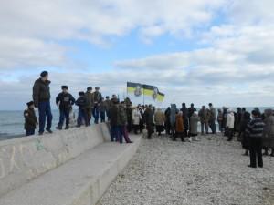 Крестный ход в Феодосии в память Русского Исхода 2013г