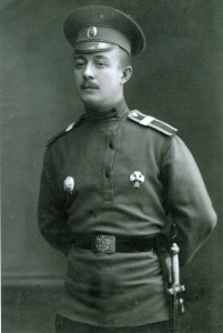 Владимир Студенцов, боец Виленского 52-го пехотного полка.