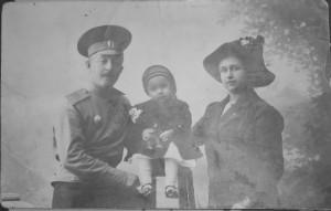 Студенцов Владимир с семьей. 1914г