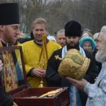 Встреча Крестного хода в Феодосии