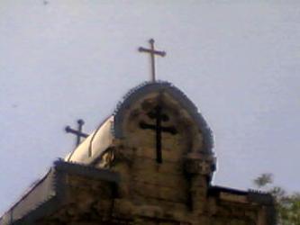 Кресты на Казанском соборе