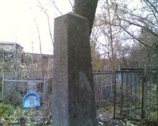 надгробия на могилах русских офицеров и казаков
